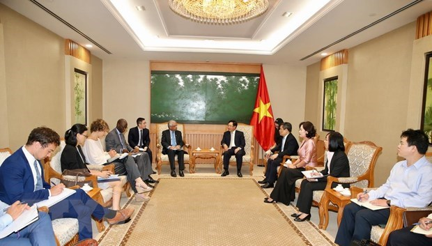 Vietnam hopes for further support in access to ODA: Deputy PM hinh anh 1