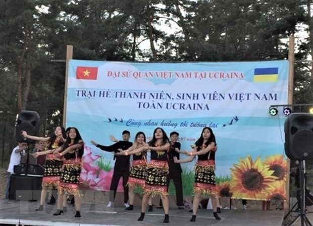 Vietnamese youth camp held in Ukraine hinh anh 1