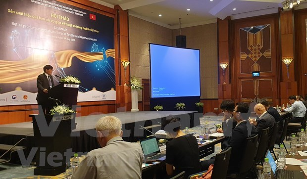 Conference discusses digital technology in apparel sector hinh anh 1