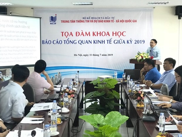 Economists: Vietnamese economy could grow by 6.86 pct in 2019 hinh anh 1