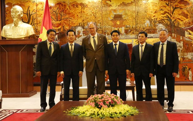 Hanoi, Germany eye stronger cooperation hinh anh 1