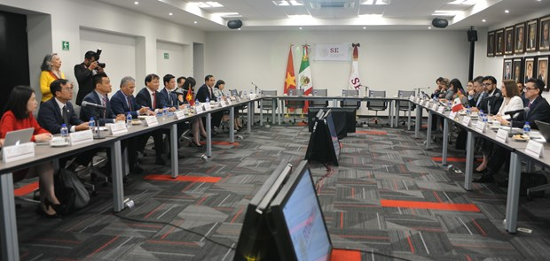 Vietnam, Mexico step up economy-trade-investment ties hinh anh 1
