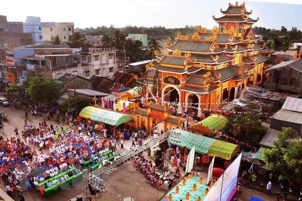 Week of culture and tourism kicks off in Dong Thap hinh anh 1