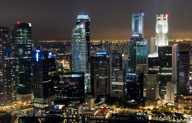 Singapore's economic growth slowest in decade hinh anh 1
