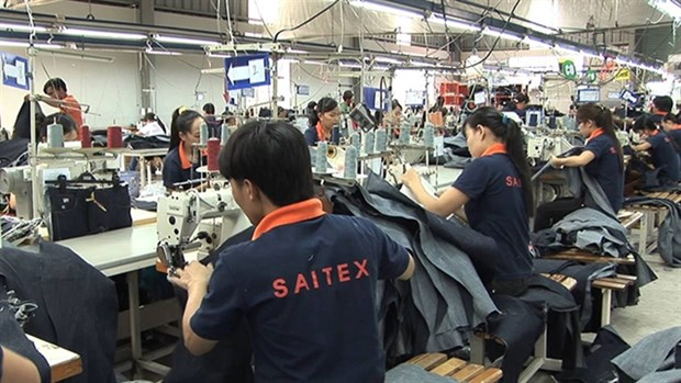 High-level Swiss delegation visits garment factory in Dong Nai hinh anh 1