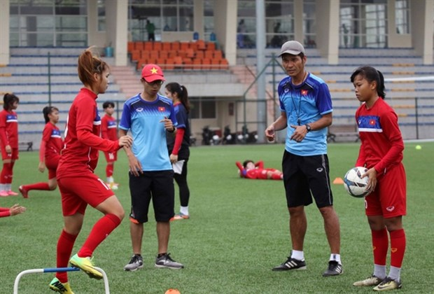 Vietnam's U19 women's team set for friendly matches in RoK hinh anh 1