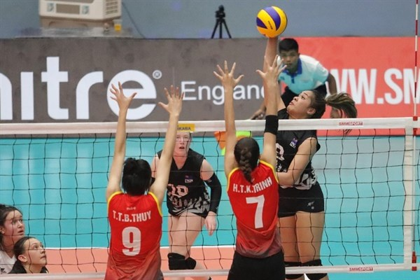 Asian women's U23 volleyball tourney begins in Hanoi hinh anh 1