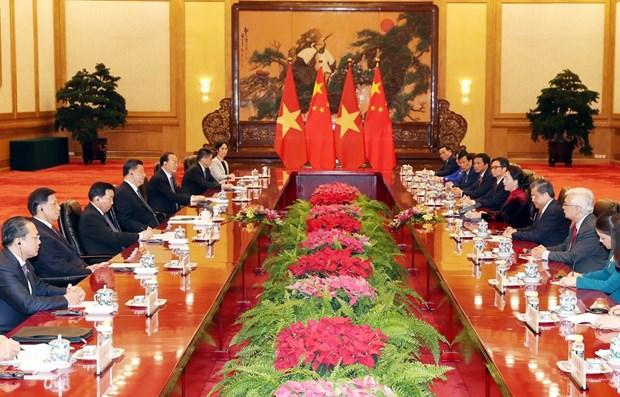 Top legislator's China visit gives boost to bilateral partnership hinh anh 1