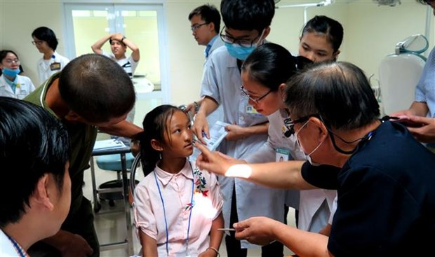 Children with facial defects in central regions get free surgeries hinh anh 1
