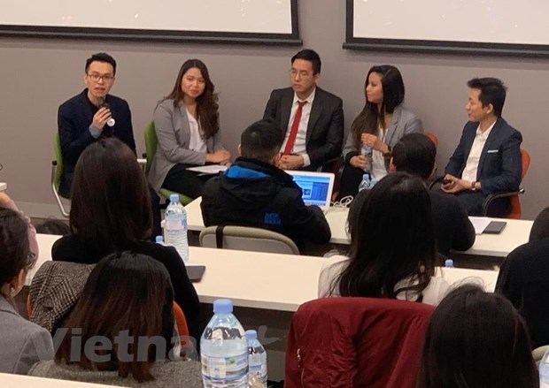Startup contest launched for Vietnamese students in Australia hinh anh 1