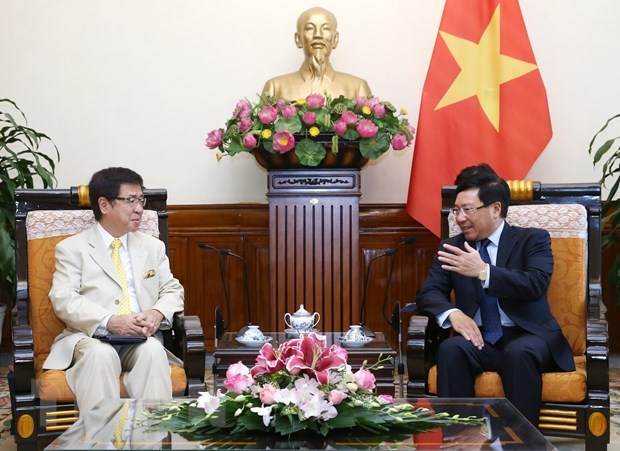 Deputy PM delighted at growing Vietnam – Japan ties hinh anh 1