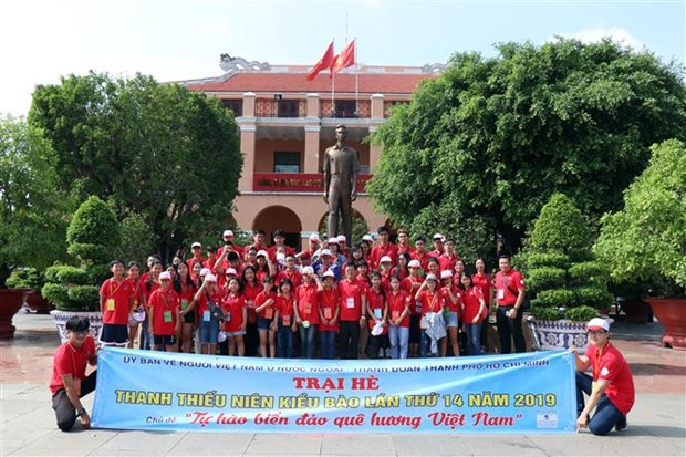 HCM City's summer camp for young expats begins hinh anh 1