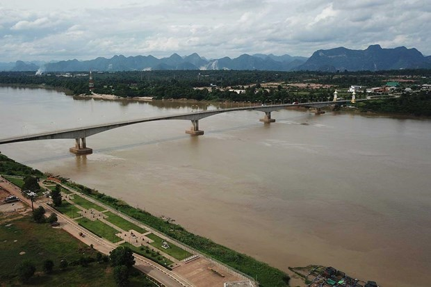 Thailand: Mekong water level drops to lowest level in 10 years hinh anh 1