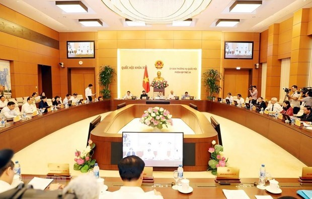 NA Standing Committee opens 35th session hinh anh 1