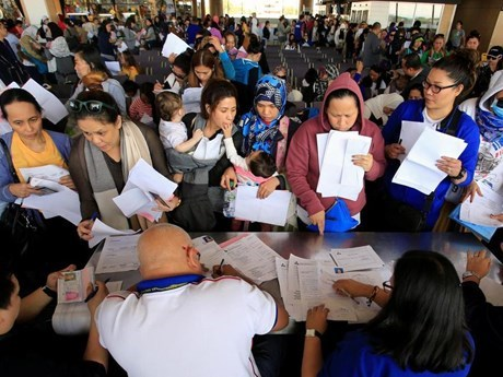 Philippines tightens rule on entry of foreign workers hinh anh 1