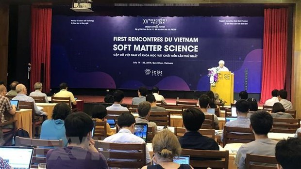 First conference on soft matter science opens in Binh Dinh hinh anh 1