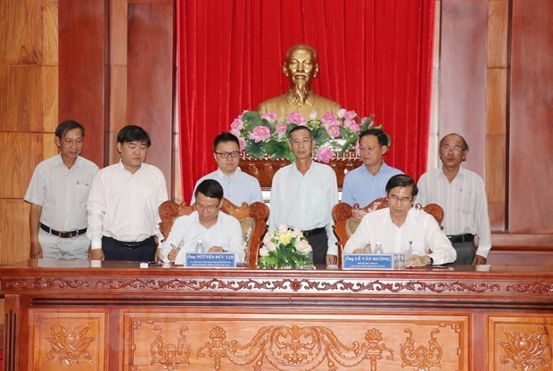 Vietnam News Agency, Tien Giang sign cooperation deal hinh anh 1