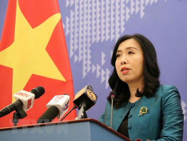 Vietnam resolved to fight violations of its sea areas: spokeswoman hinh anh 1