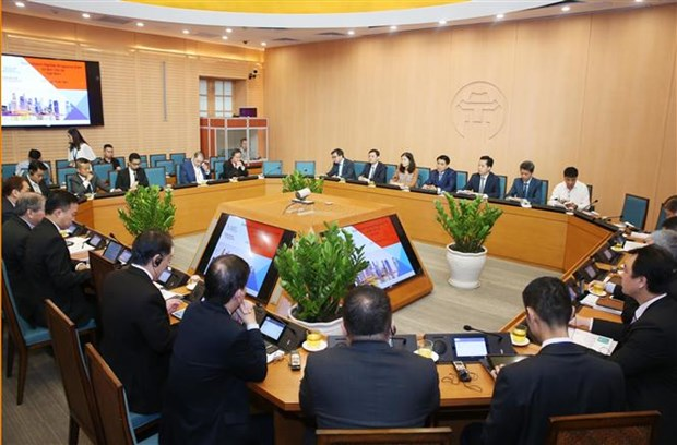 Hanoi, Singapore seek to promote partnership hinh anh 1