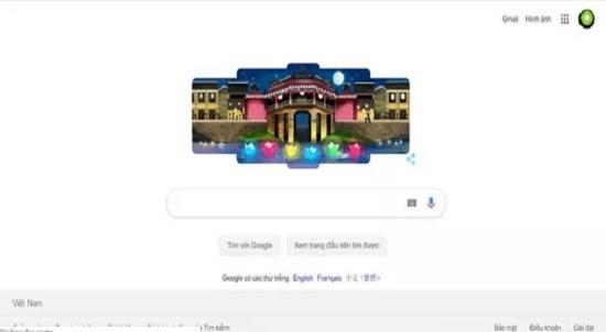 Hoi An lanterns illuminate Google's homepage hinh anh 2