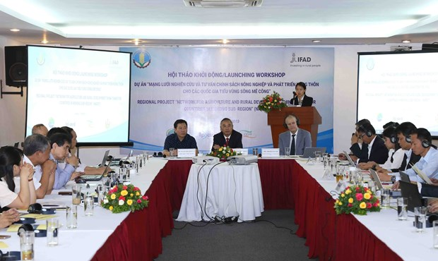 Project to improve agricultural development policy in Mekong subregion hinh anh 1