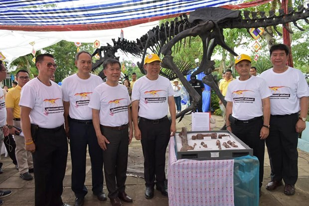 New dinosaur species discovered in Thailand hinh anh 1