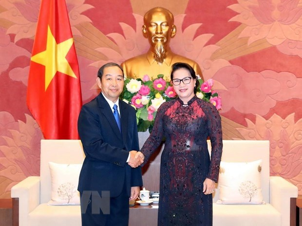 Vietnam, Laos increase training courses for judges, court officials hinh anh 1