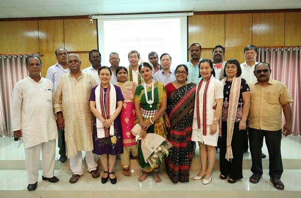 Vietnam-India friendship, exchange programmes promoted hinh anh 1