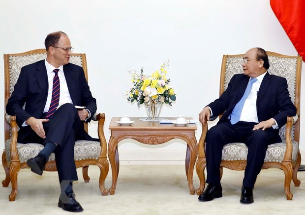PM hopes for comprehensive cooperation with Germany hinh anh 1