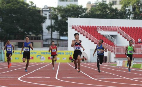 HCMC Int'l Track and Field Vietnam Open 2019 begins hinh anh 1