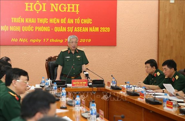 Preparations underway for ASEAN defence-military events in 2020 hinh anh 1