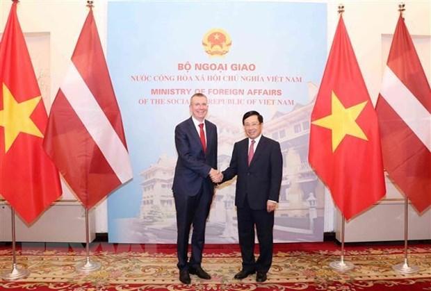 Vietnam, Latvia seek ways to enhance ties hinh anh 1