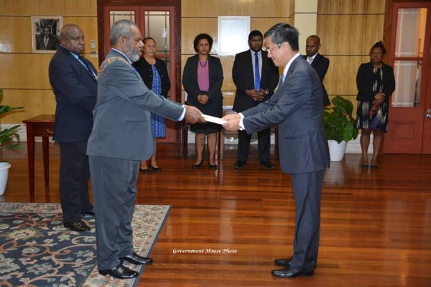 Papua New Guinea Governor-General hails Vietnam's position hinh anh 1