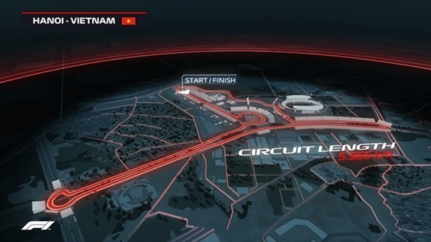 Tickets for Formula 1 race in Hanoi go on sale hinh anh 1
