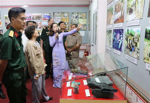 Exhibition on Agent Orange pains opens in Gia Lai hinh anh 1
