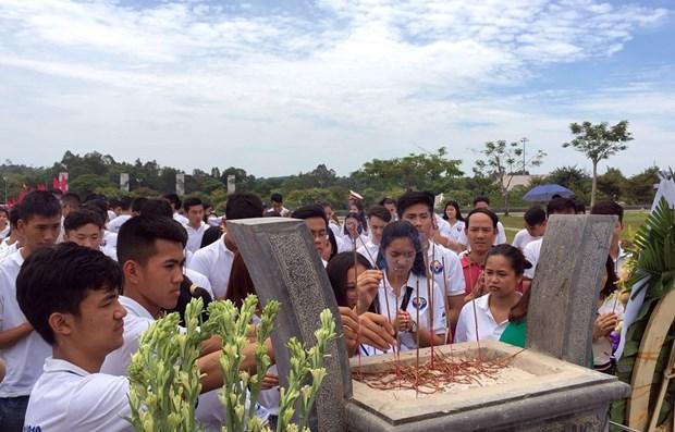 Young Vietnamese expats visit Quang Nam province hinh anh 1