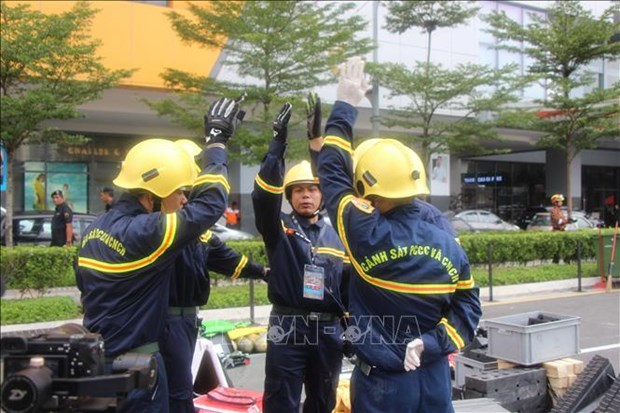 Vietnam joins int'l rescue competition in Malaysia hinh anh 1