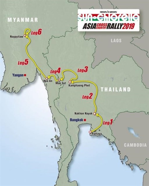 Asia Cross Country Rally likely to hold stage in Vietnam hinh anh 1