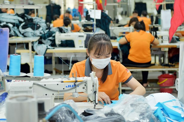 Domestic garment producers face order shortage in H1 hinh anh 1