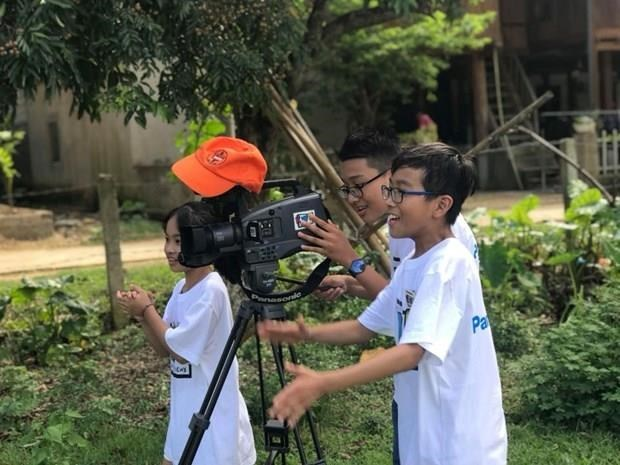 Hanoi's students send 35 works to film-making contest hinh anh 1