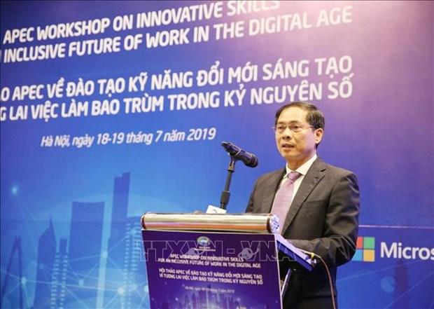 APEC workshop promotes innovative work skills in digital age hinh anh 1