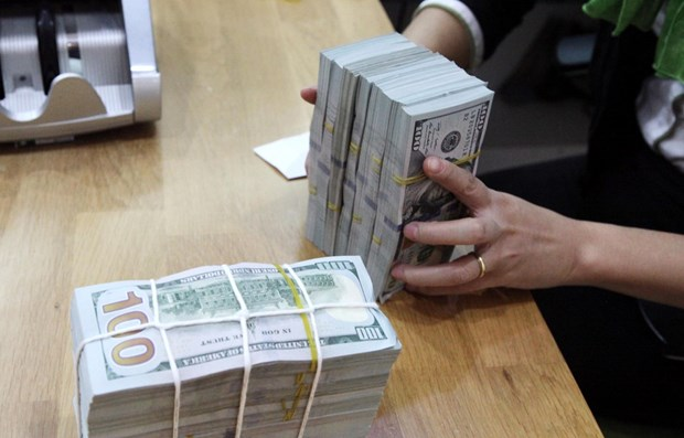 Reference exchange rate revised up 5 VND on July 19 hinh anh 1