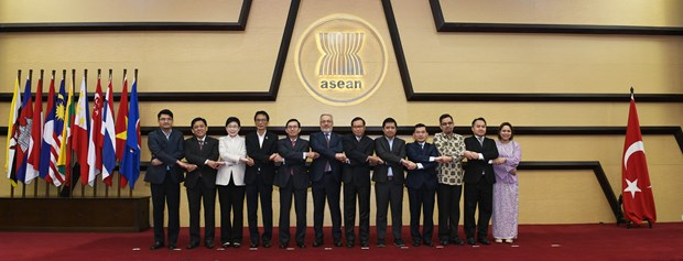 ASEAN, Turkey agree on prioritised cooperation areas hinh anh 1