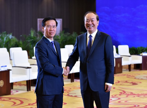 Vietnamese, Chinese parties hold 15th theoretical workshop hinh anh 1