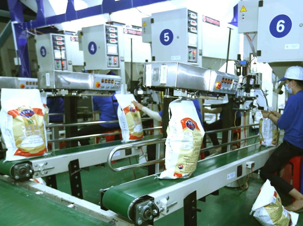 Vietnam reports trade surplus of about 1.6 billion USD in H1 hinh anh 1