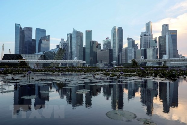 Singapore's economic growth shows signs of slowndown hinh anh 1