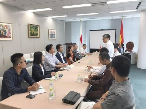 Consulate General in Fukuoka ramps up activities to mark 10-year operation hinh anh 1