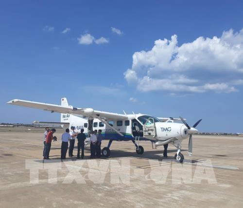 First Dong Hoi - Da Nang flight launched hinh anh 1