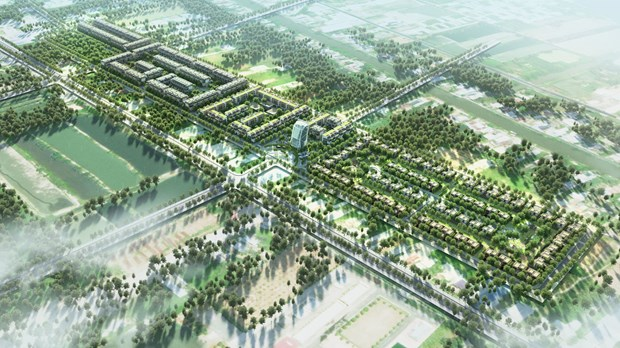 FLC constructs modern urban complex in Dong Thap hinh anh 1