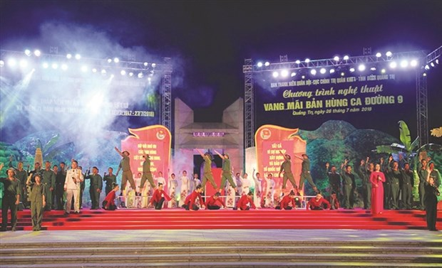 Music festival in Quang Tri honours fallen combatants hinh anh 1